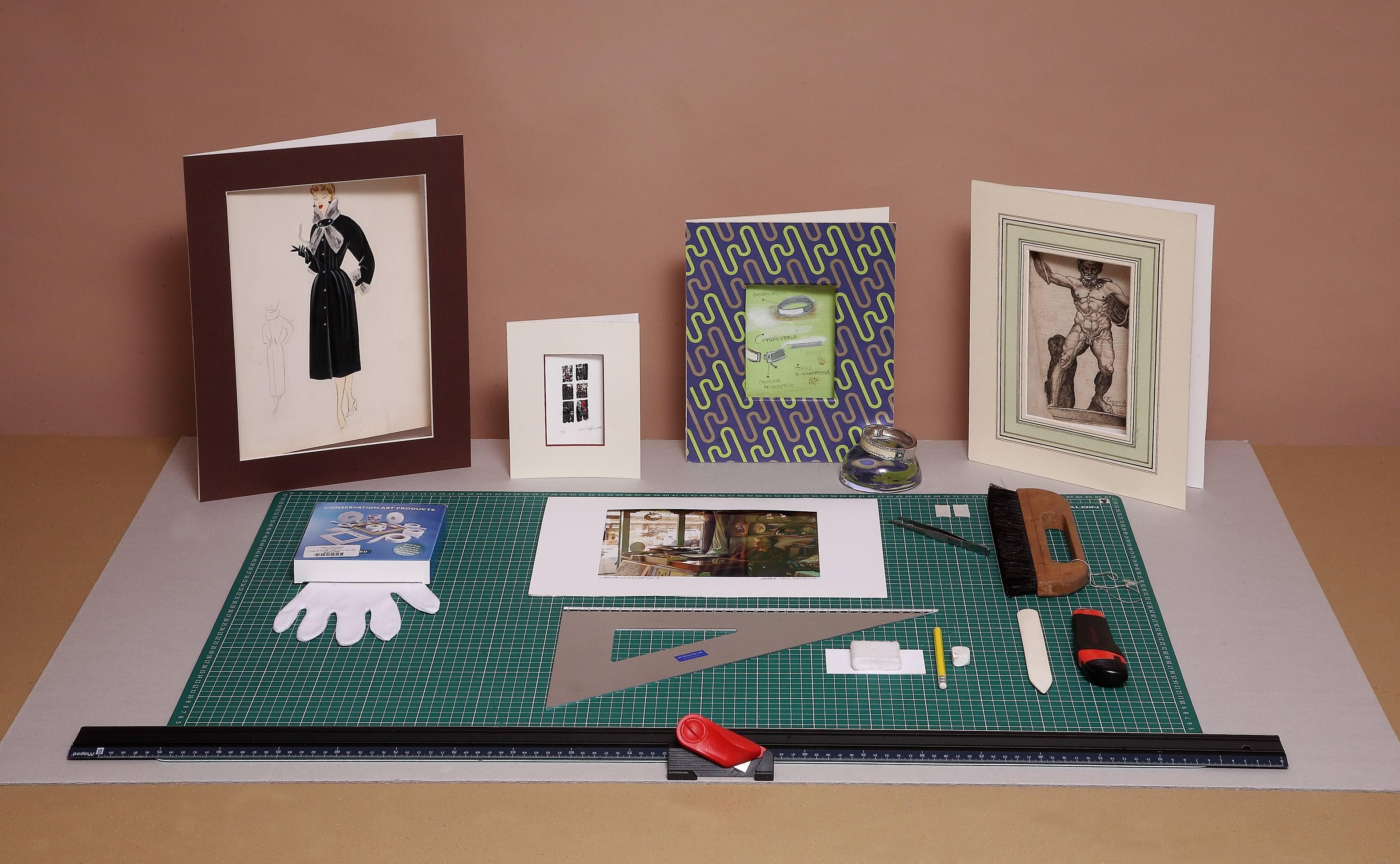 Conservazione di opere e documenti su carta